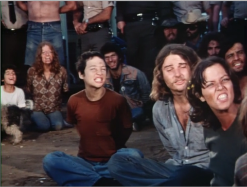 A depth of dirty hippies