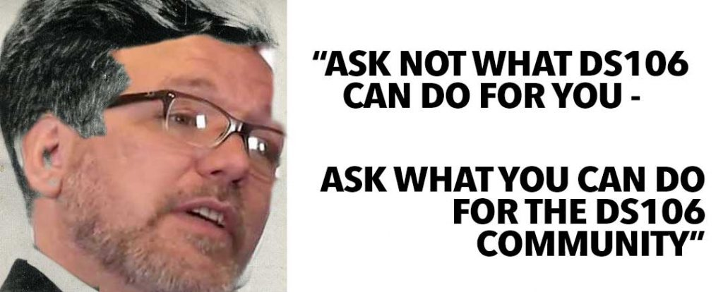 """Credit """"Ask not what you can do for #ds106 ..."""" by Alan Levine"""